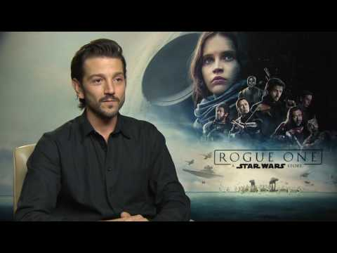 Diego Luna Interview for Rogue One - A Star Wars Story - Cassian Andor