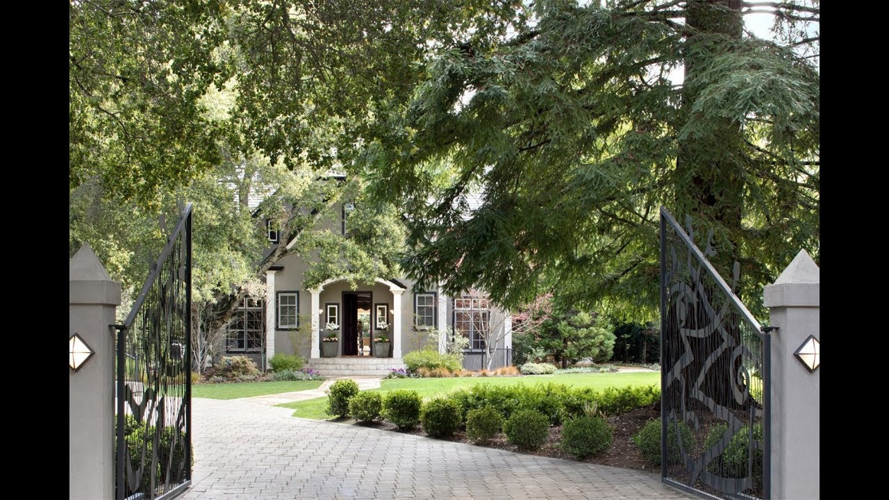 Private and Elegant Estate in Atherton, California - Sotheby's International Realty