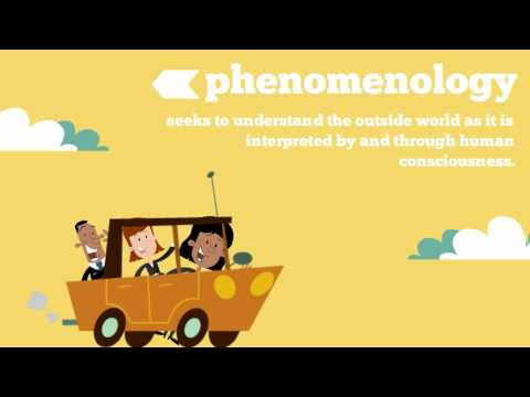 Understanding Phenomenology from YouTube · Duration:  3 minutes