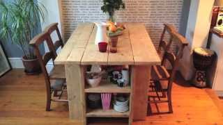 Rustic Dining Table At Lovewoodwork.com - Babbo's Table