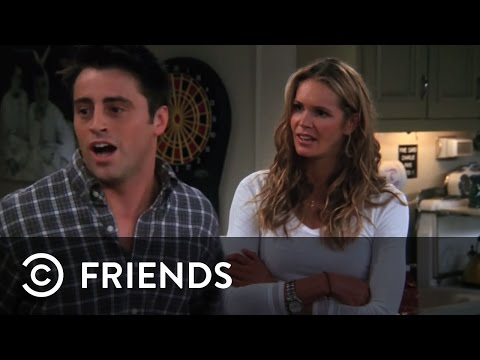 Joey Gets Rejected By Janine (Elle Macpherson) | Friends