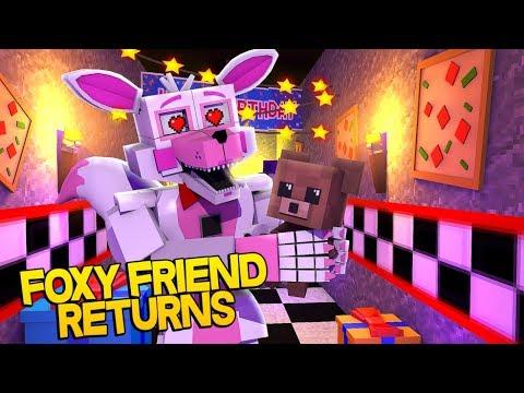 Minecraft Fnaf: Sister Location - Funtime Foxys Best Friend Returns (Minecraft Roleplay)