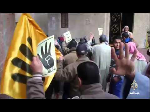 فيديو مسيرة مناهضة للأنقلاب في محافظة القليوبية 2016