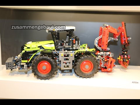 lego technic claas xerion 5000 tractor full toy fair. Black Bedroom Furniture Sets. Home Design Ideas