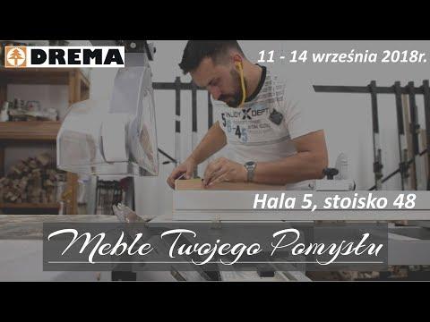 Drema 2018r. - realizacje na żywo z Meble Twojego Pomysłu /  live projects and presentations