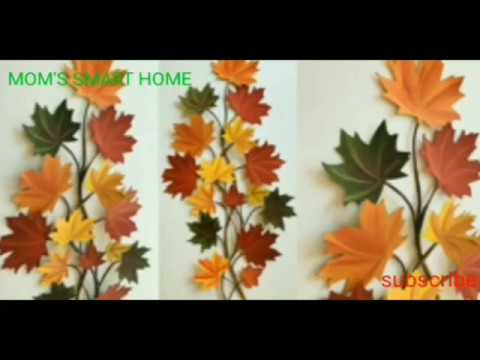 DIY HOME DECOR/HOW TO MAKE WALL CLIMBER AT HOME