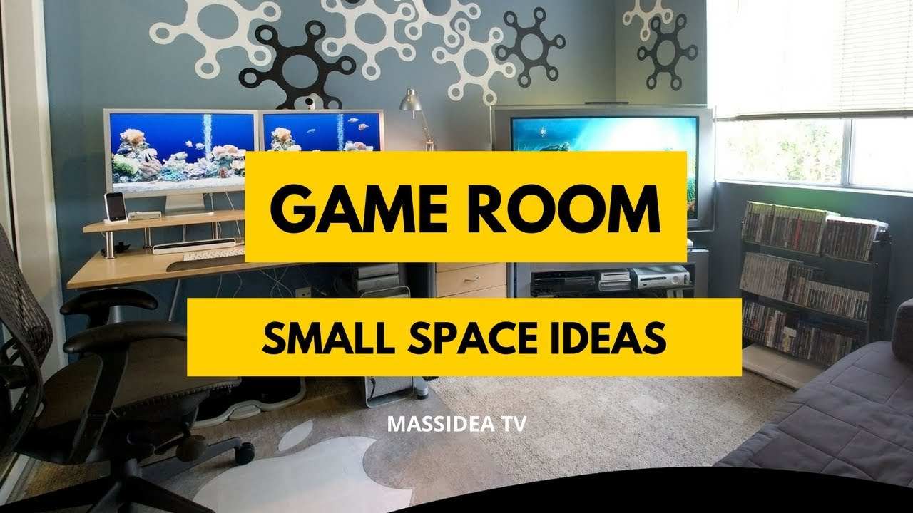 50 Creative Small Space Game Room Ideas For Your Room Youtube