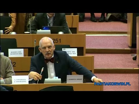 Janusz Korwin-Mikke on Committee on Foreign Affairs 16.02.2016