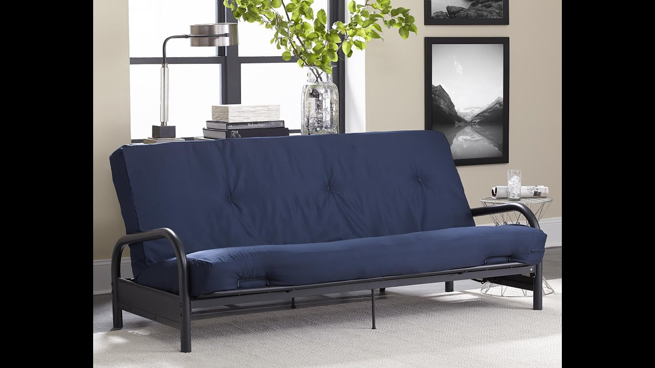 8in Navy Futon Mattress YouTube