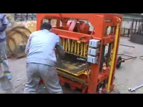 small concrete block machine from LINYI BAOMA STEEL SALES CO.,LTD