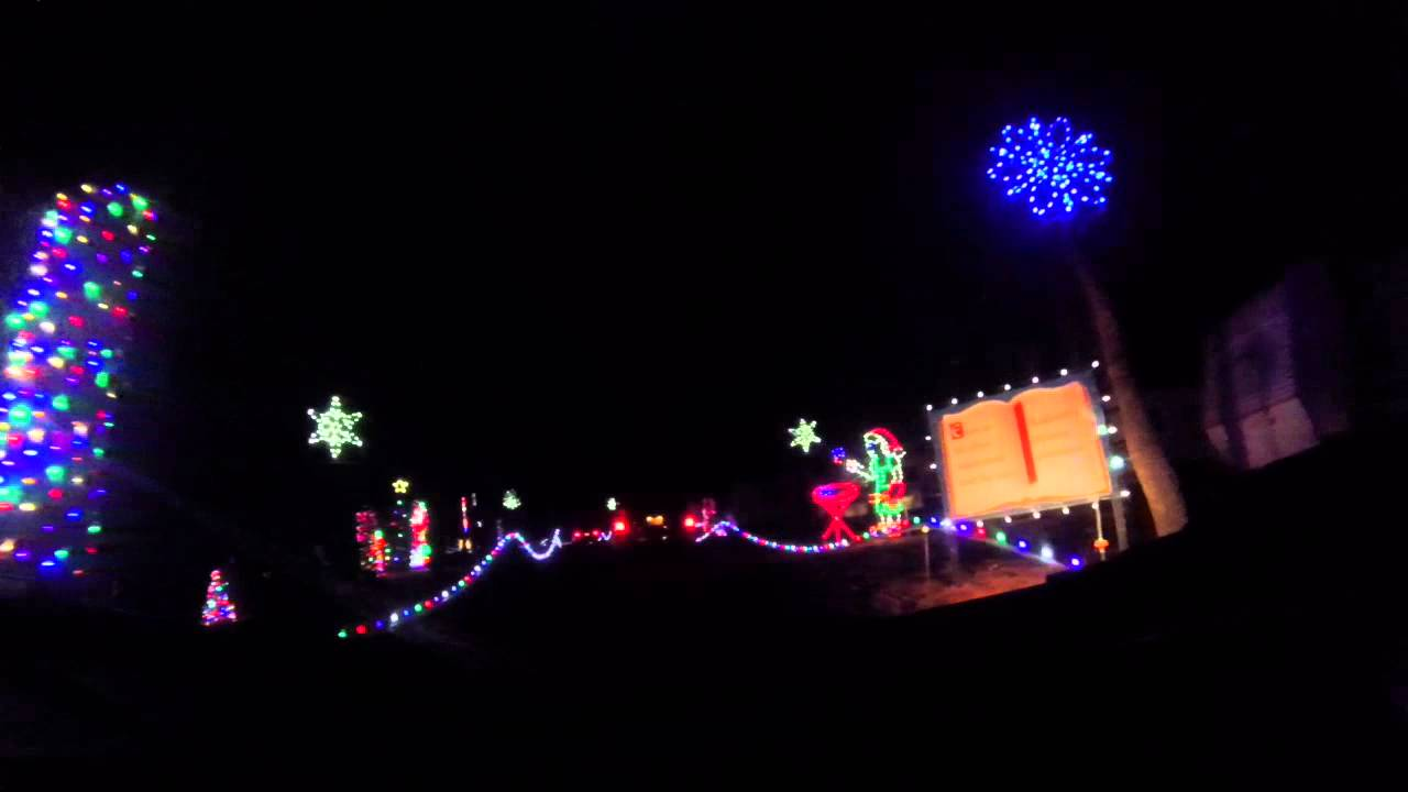 lake rudolph land of lights christmas 2014