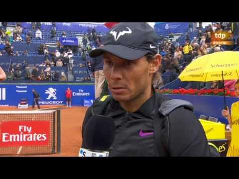 Rafael Nadal On-court interview / R3 Barcelona Open 2017