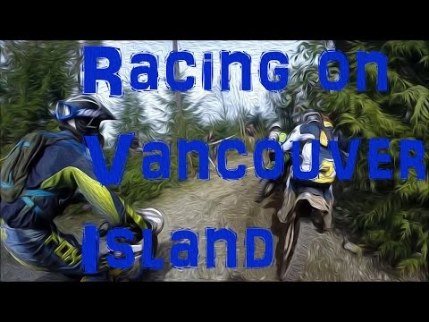 Megan Griffiths racing on Vancouver Island (WITH AUDIO)