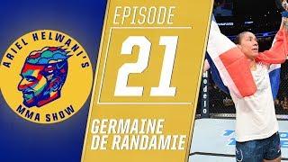 Germaine de Randamie's latest win means more than winning UFC belt   Ariel Helwani's MMA Show