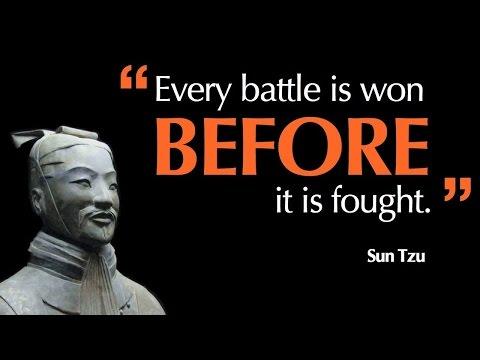 Cara Memenangkan Persaingan Hidup - Art of War by Sun Tzu Book Review