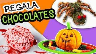 REGALA Mini Tortas con CHOCOLATE en Halloween - Día de los Muertos| Manualidades aPasos