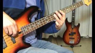 Roger Glover - Love Is All - Bass Cover