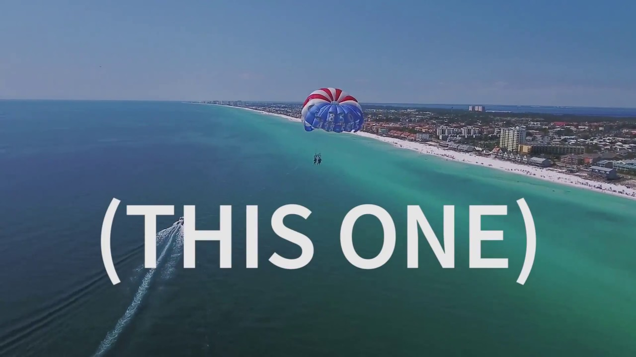 Ft Walton Beach Parasailing In Destin Florida Behind Pompano Joe S