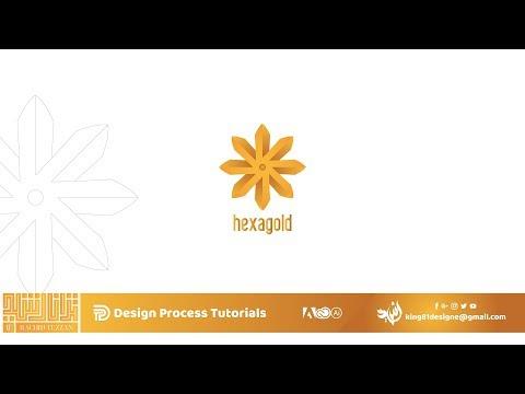 Logo Design Tutorial-Hexagold- thumbnail