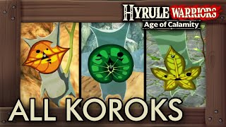 Hyrule Warriors Age Of Calamity All Korok Seed Locations Youtube