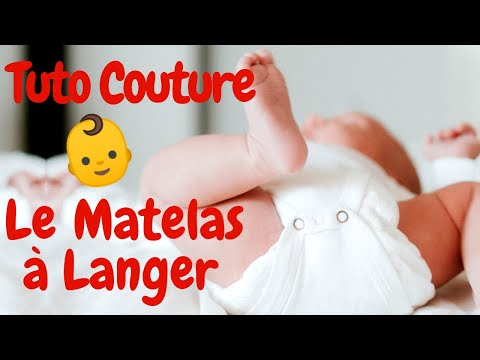 Matelas A Langer Nomade Tuto Couture Pour Bebe Youtube