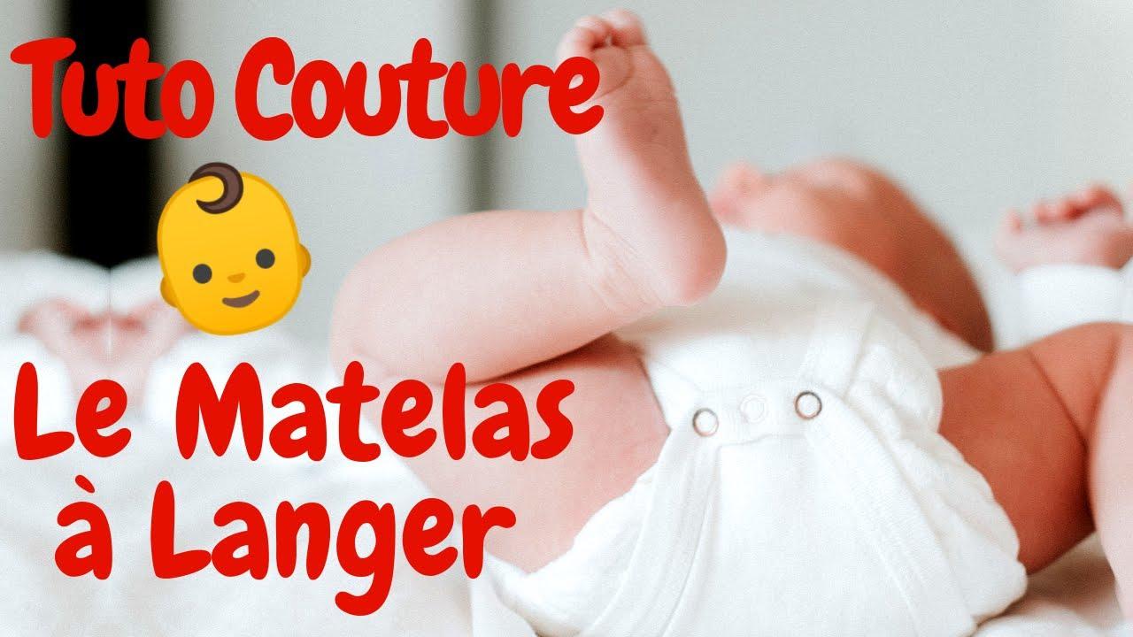 matelas a langer nomade tuto couture pour bebe