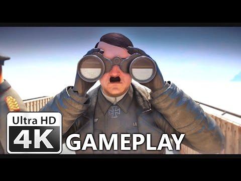 Sniper Elite 4 : First Gameplay 4K Trailer & Target Führer Teaser - 동영상