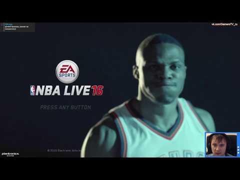 NBA Live 16 (XboxOne, PS4) смотрины демо версии игры (геймплей, прохождение, обзор)