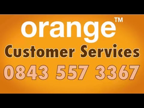 Orange Customer Services