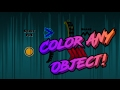 Geometry Dash | How to Color ANY Object (without Pulse trigger)