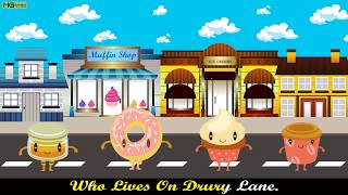 Do you know the Muffin man... Nursery Rhymes Video [Full Song + Lyrics] ♫♫