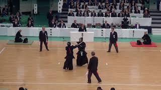 65th All Japan Kendo Championship 54   Round 3, Yamamoto vs Adachi