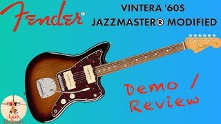 Fender Vintera Jazzmaster modified: demo & review
