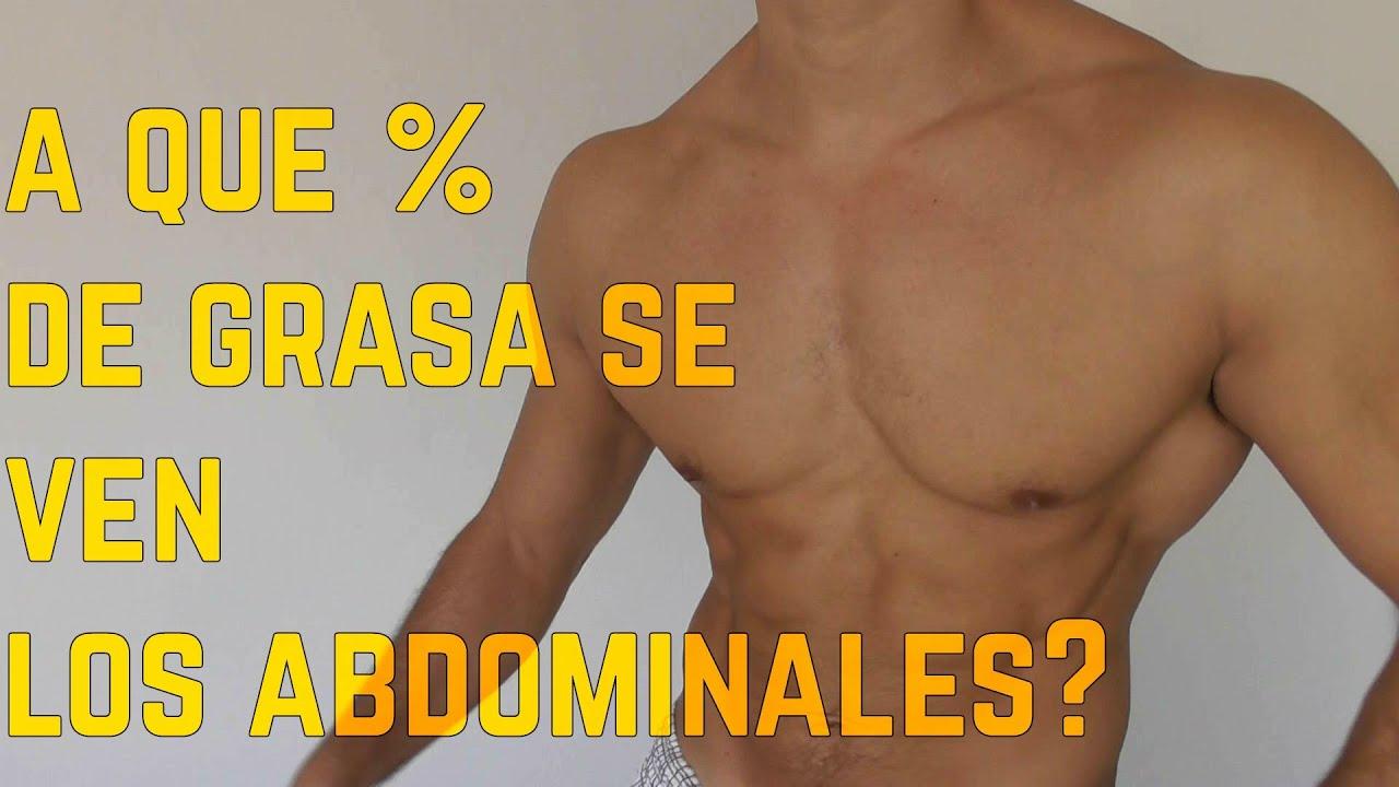 Porcentajes normales de grasa corporal