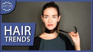 HAIR TRENDS 2018: hair colors, haircuts, hair styling | Justine Leconte