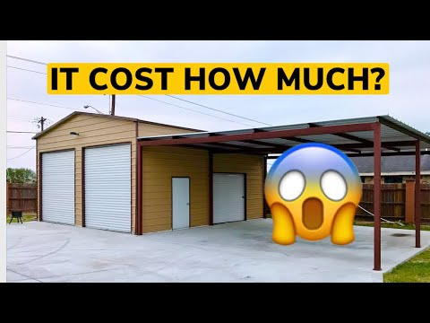 Cost To Build Metal Shop