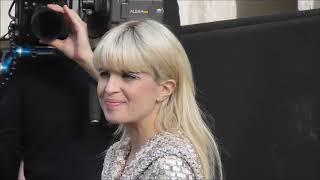 Nicolas Maury, Audrey Marnay, Cécile Cassel, Irene Kim au défilé Chanel le 6 mars 2018