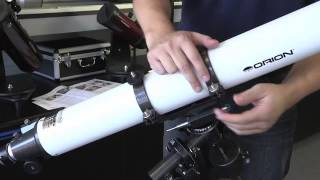 How to Set Up Orion AstroView 90mm Equatorial Refractor Telescope - Orion Telescopes