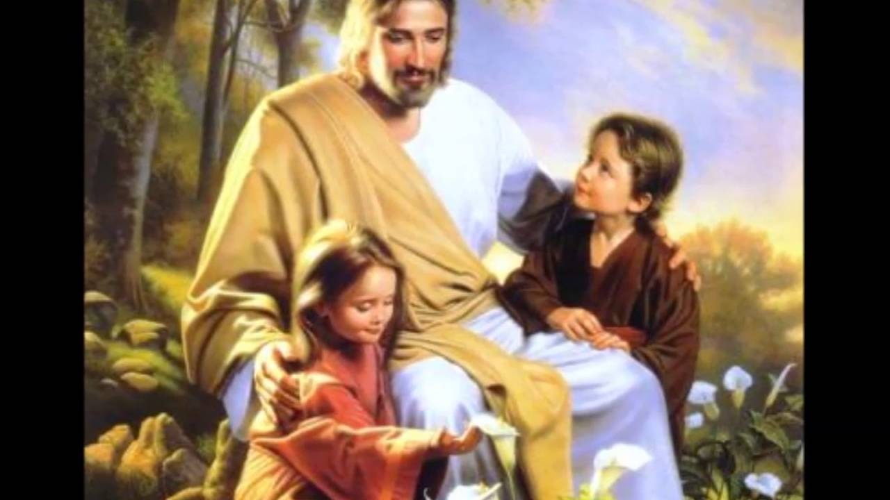 Pictures with jesus of children