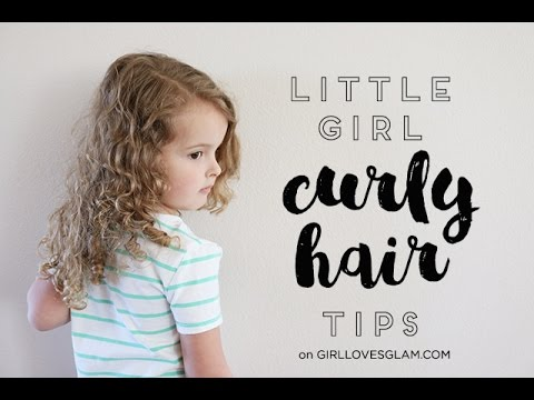 How To Take Care Of Little Girl Curly Hair Video Girl