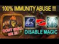 Infinite Disable Magic Spam ABUSE!!! [No Cooldown+Rearm+Repel] Ability Draft Dota 2