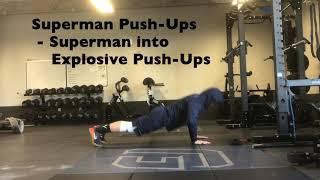 Superman Push Ups