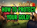 Gambar cover Clash of Clans How To Protect Gold & Elixir