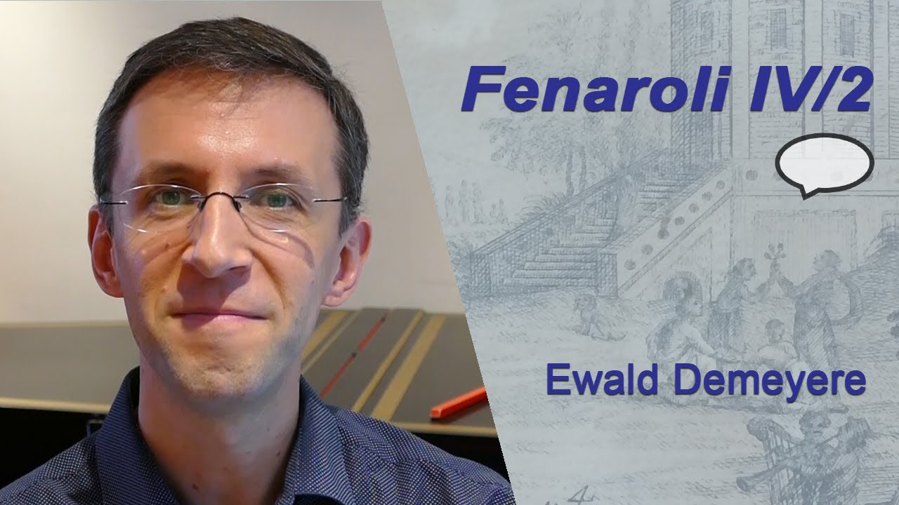 Classical Improvisation: Ewald Demeyere on Fenaroli's 2nd Partimento in A minor (Book 4)