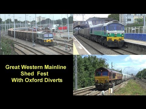 """""""A Very Busy Great Western Main Line with Diverts""""  27/07/17"""