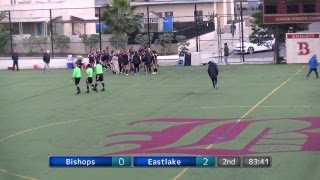 Bishops vs Eastlake-CIF D1 Semi-Finals, Girls Soccer