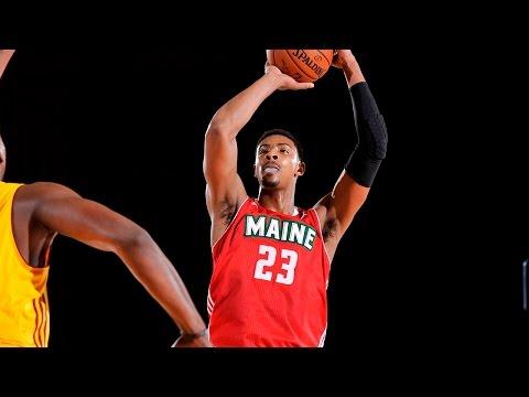 2016 NBA D-League All-Star: Jordan Mickey (Maine Red Claws)