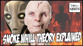 Snoke Whill Theory Explained - New Canon Evidence   Star Wars The Last Jedi