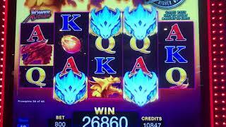 "Fierce Factor Video Slot Machine ""bonuses"" $8.00 max bet"