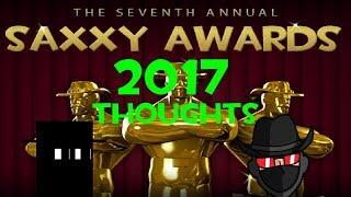 Saxxy Awards 2017/18 Thoughts (w/ Michael Gojira)
